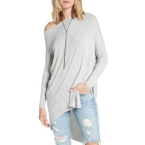 We The Free Off The Shoulder Tunic Top
